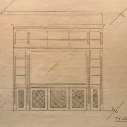 Entertainment center update | design