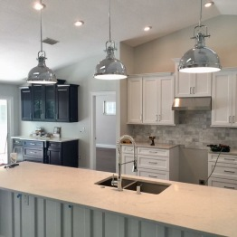 Entire home renovation including custom kitchen design | consulting