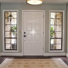 Entire home makeover, foyer update | design