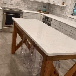 Complete kitchen design, custom island | design